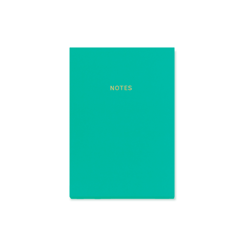 A6 notebook - Teal