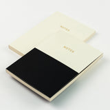 A6 set of 2 notebooks - Mono Duo