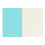 A6 set of 2 notebooks - Aqua/Teal Duo
