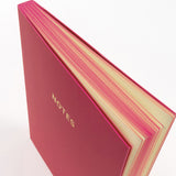 A6 notebook - Cerise Pink