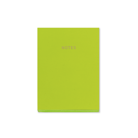 A6 notebook - Lime