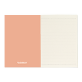 A6 notebook - Coral