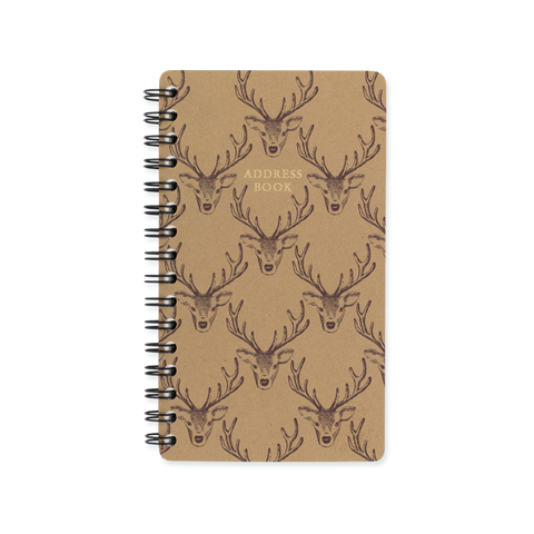 Slim Address Book - Stag