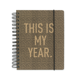 A5 week-to-view mid year 2017/18 diary and planner - This is my year
