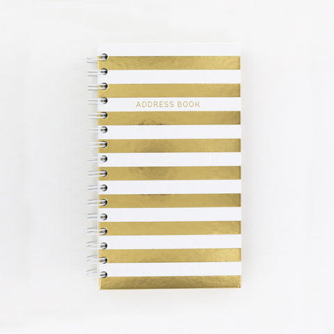 Slim Address Book - Cream