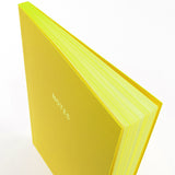 A5 notebook - Canary Yellow