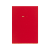 A5 notebook - Warm Red
