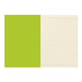 A5 notebook - Lime
