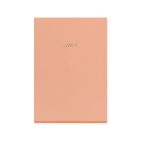 A5 notebook - Coral