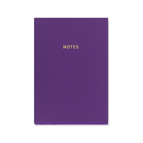 A5 notebook - Rich Plum