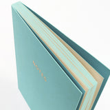 A5 notebook - Aqua Blue