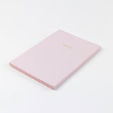 A5 notebook - Dusky Pink
