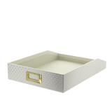 Document Tray - Cream