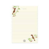 A5 Note Pad - Owl