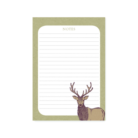 A5 Note Pad - Stag