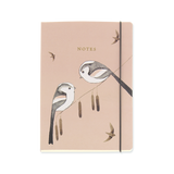 A5 notebook - Long Tailed Tits