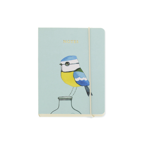 A6 notebook - Blue Tit