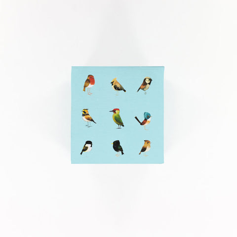 Memo Block - Songbirds