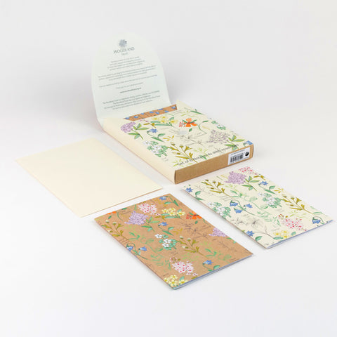 Notecard set - Botanical