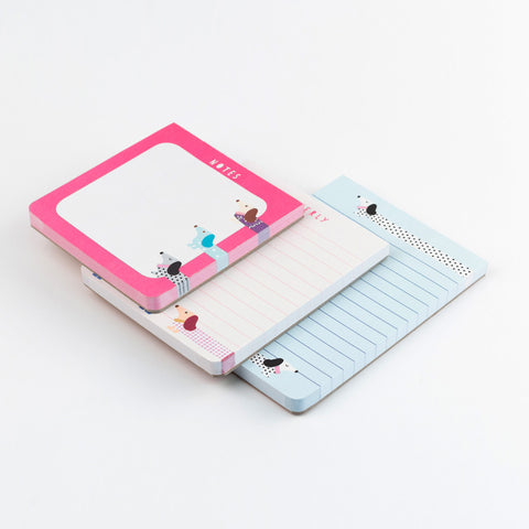 set of 3 note pads