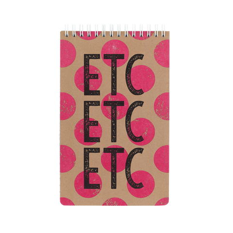 Reporter notebook - ETC