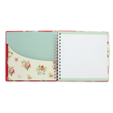 Square Tabbed Organiser - Christine