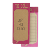 To Do List -  Not To Do