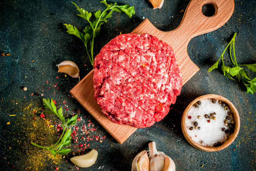 Saftige Dry Aged Burger Patties von Oberlecker vom Gallowayrind