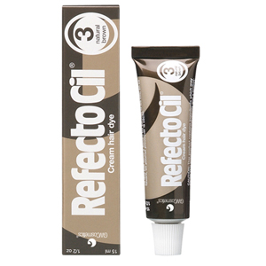 Refectocil- Hair Dye-Natural Brown #3- 0.5oz.