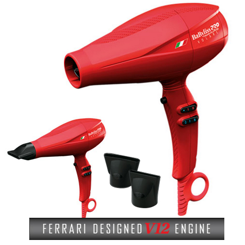 Volare V1 Ferrari Red Blow Dryer