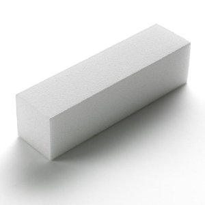 White Buffer Block 150 Grit