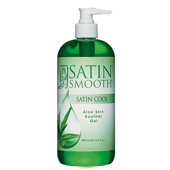 Satin Smooth- Satin Cool Aloe Skin soother Gel