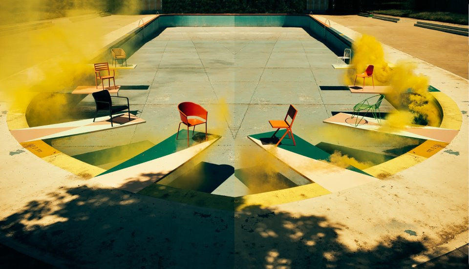 Smoking Pool Editorial For Elle Decor Italia