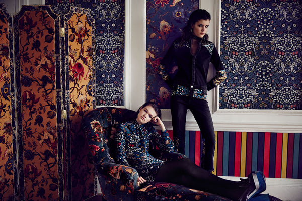House of Hackney x William Morris Autumn/Winter 2015 Collection