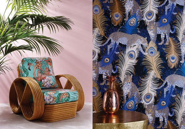 "Matthew Williamson ""Cubana"" Fabrics & Wallpapers"