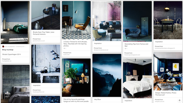Moody Blue Inspiration