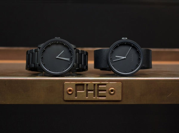 "Piet Hein Eek x LEFF amsterdam ""Tube Watch"" Series"