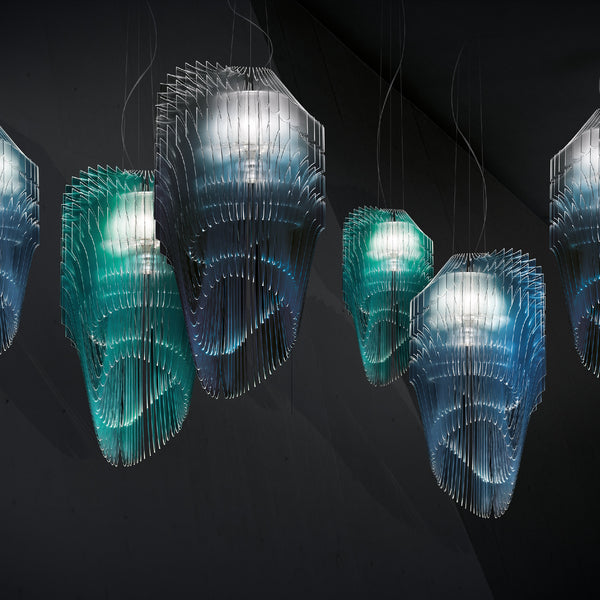 Slamp x Zaha Hadid 'Avia Edition' Lighting Collection