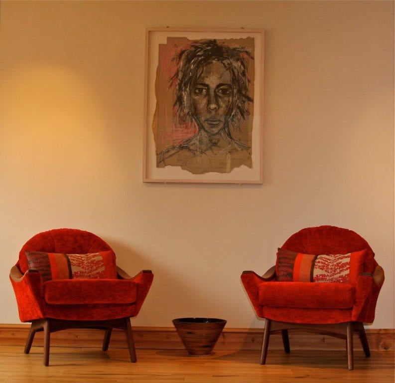 Adrian Pearsall lounge chairs at Jane Richards Interiors
