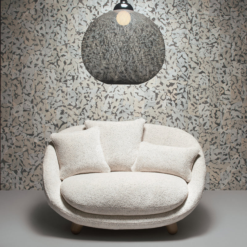 Arte x Moooi Wallcovering Armoured Boar Wallpaper Roomset