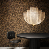 Arte x Moooi Wallcovering 'Bearded Leopard' Wallpaper Roomset