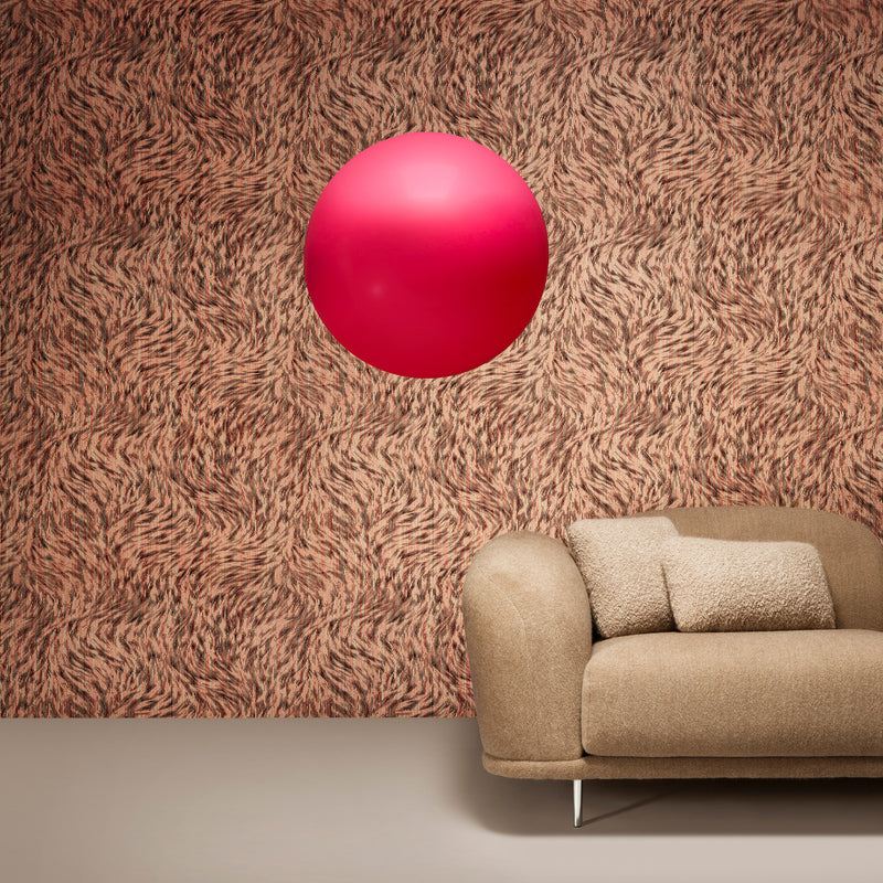 Arte x Moooi Wallcovering 'Blushing Sloth' Wallpaper Cloud Sofa