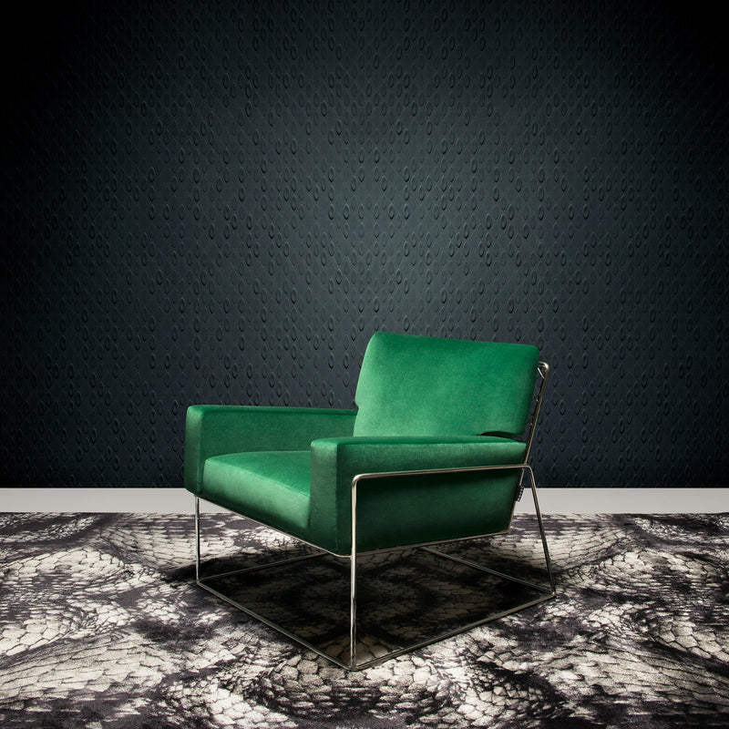 Arte x Moooi Wallcovering Flying Coral Fish Wallpaper Charles Chair