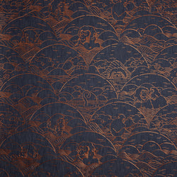 Arte x Moooi Wallcovering 'Indigo Macaque' Wallpaper MO3000