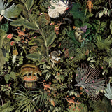 Arte x Moooi Wallcovering Menagerie of Extinct Animals Wallpaper MO2071