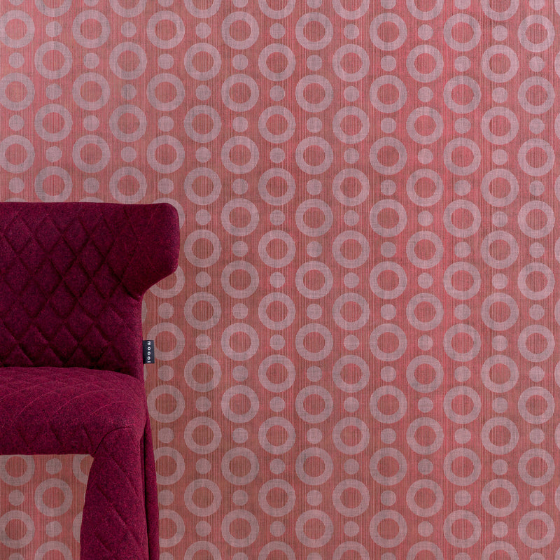 Arte x Moooi Wallcovering 'Umbrella Squid' Wallpaper Monster Chair
