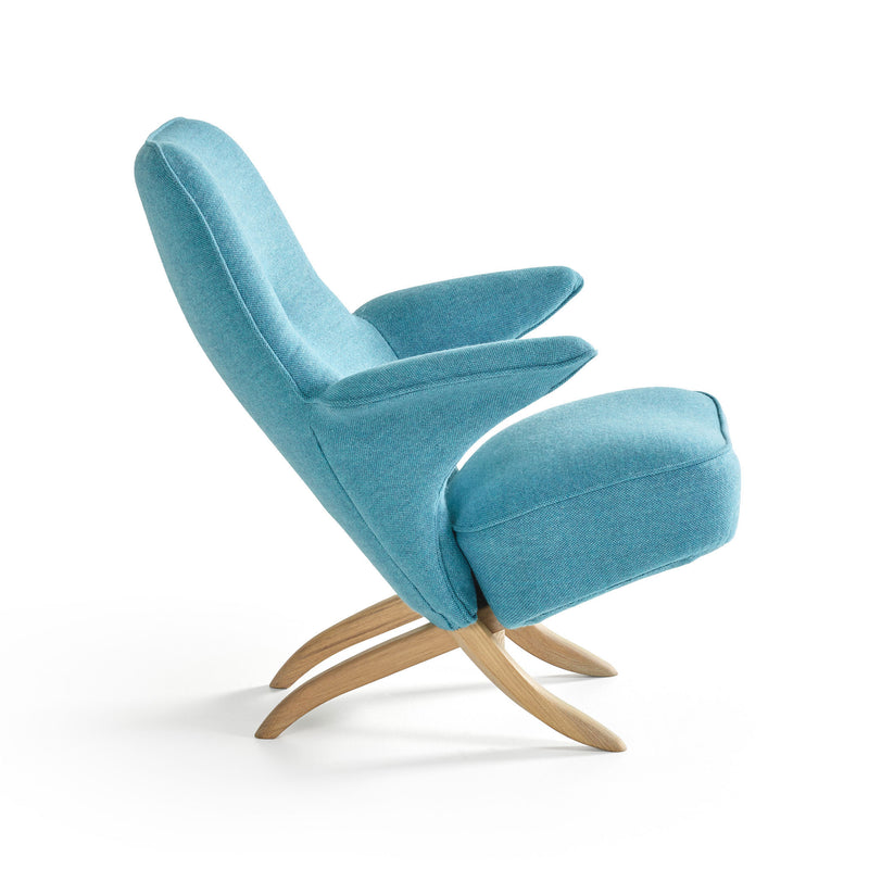 Pinguin Chair by Theo Ruth Blue Side