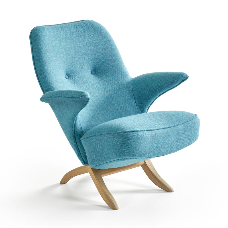 Pinguin Chair by Theo Ruth Blue