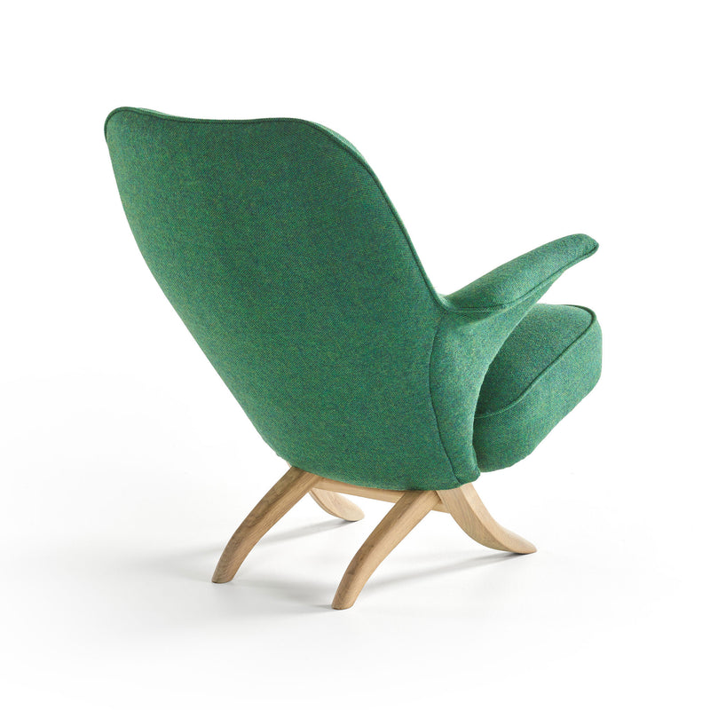 Pinguin Chair by Theo Ruth Green Back
