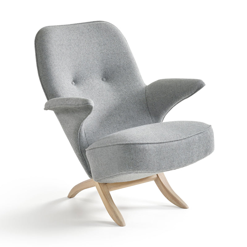 Pinguin Chair by Theo Ruth Grey